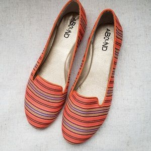 Abound striped kiley loafer NWOB